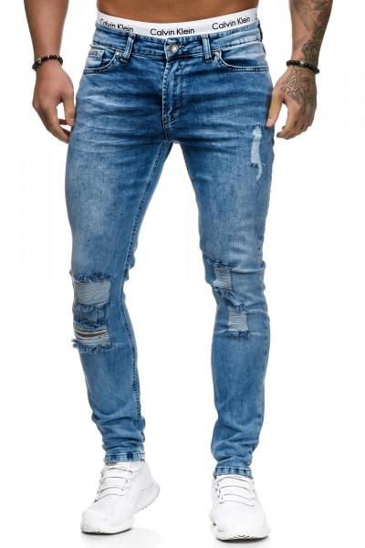 Herren Jeans Hose Slim Fit Männer Skinny Denim Designerjeans 5126C