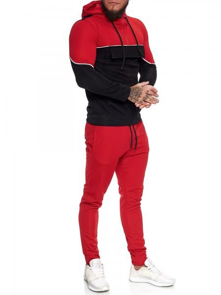 Herren Jogginganzug Trainingsanzug Sportanzug Fitness Streetwear JG-13100