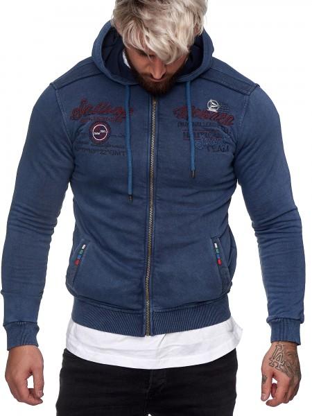OneRedox Herren Pullover Sweatshirt Longsleeve Langarm Hoodie Modell H-1429