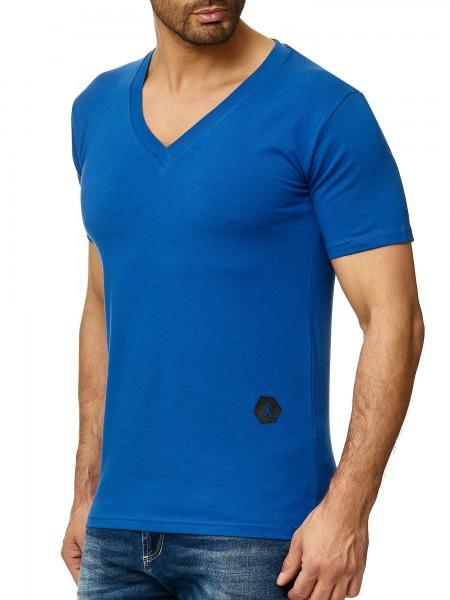 Herren T-Shirt Poloshirt Shirt Kurzarm Printshirt Polo Kurzarm 1308C