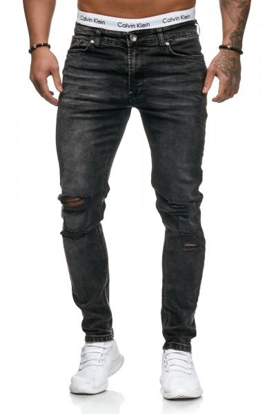 Herren Jeans Hose Slim Fit Männer Skinny Denim Designerjeans 5125C