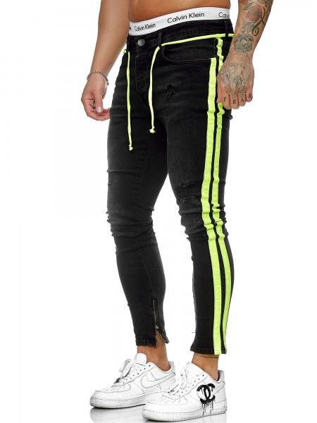 Herren Jeans Hose Slim Fit Männer Skinny Denim Designerjeans J-8001-SG