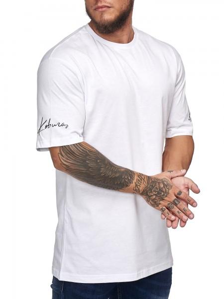 Herren T-Shirt Poloshirt Shirt Kurzarm Printshirt Polo Kurzarm KO201901BASIC