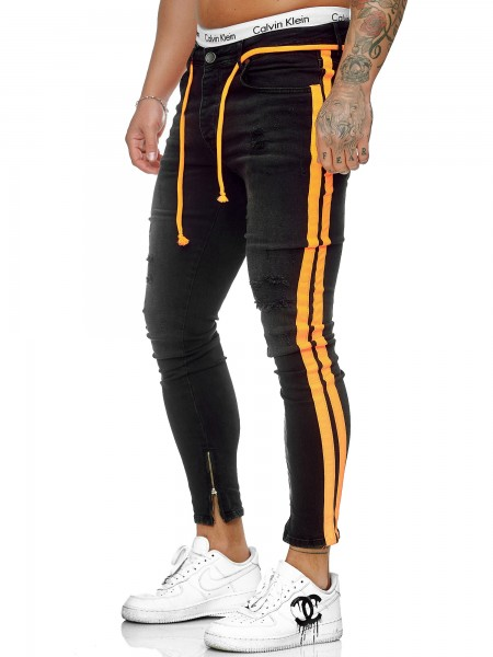 Herren Jeans Hose Slim Fit Männer Skinny Denim Designerjeans J-8001-SO