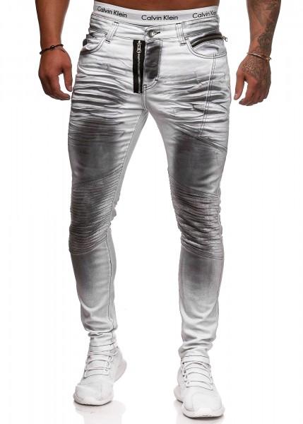 Herren Jeans Hose Slim Fit Männer Skinny Denim Designerjeans 5042C