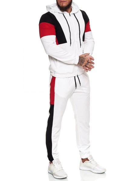 Herren Jogginganzug Trainingsanzug Sportanzug Fitness Streetwear JG-13101