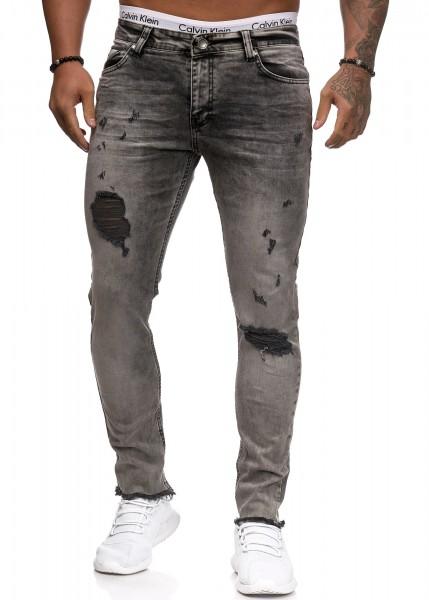 Herren Jeans Hose Slim Fit Männer Skinny Denim Designerjeans 5138C