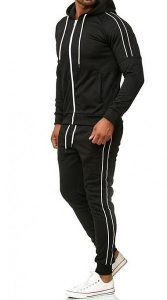 Herren Jogginganzug Trainingsanzug Sportanzug Fitness Streetwear C01