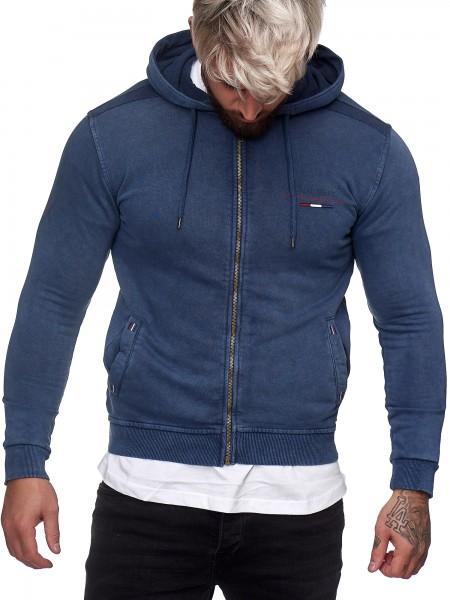 OneRedox Herren Pullover Sweatshirt Longsleeve Langarm Hoodie Modell H-1326