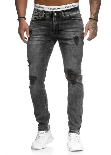 Herren Jeans Hose Slim Fit Männer Skinny Denim Designerjeans 5117C