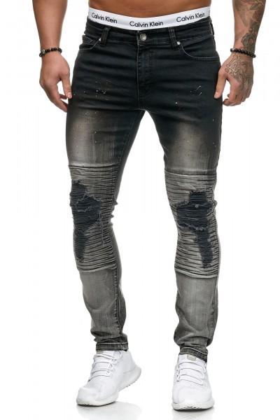 Herren Jeans Hose Slim Fit Männer Skinny Denim Designerjeans 5131C
