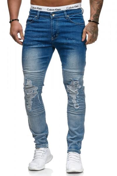 Herren Jeans Hose Slim Fit Männer Skinny Denim Designerjeans 5132C