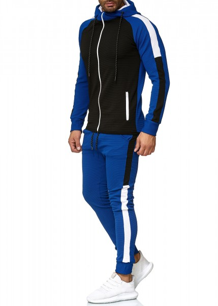Herren Jogginganzug Trainingsanzug Sportanzug Fitness Streetwear 1262C