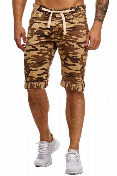 Herren Bermudashorts Kurze Hose Bermudas Shorts Männer 4056C