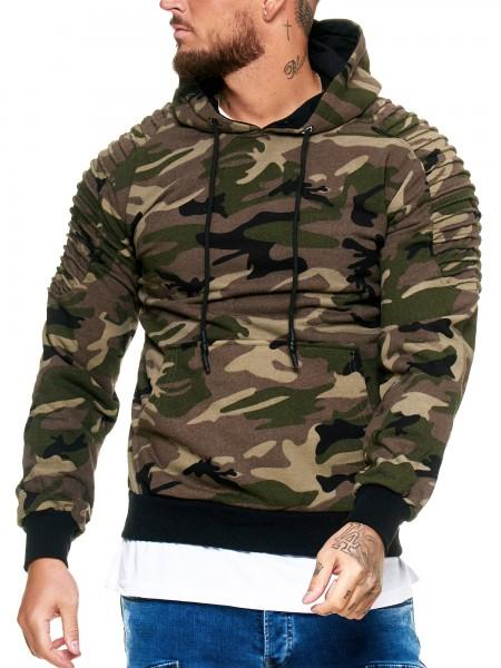 Herren Pullover Sweatshirt Longsleeve Langarm Hoodie Modell H-845