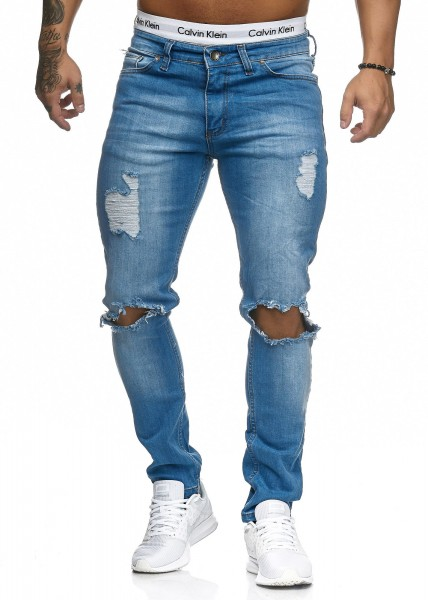 Herren Jeans Hose Slim Fit Männer Skinny Denim Designerjeans 5118C