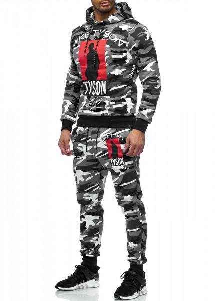 Herren Jogginganzug Trainingsanzug Sportanzug Fitness Streetwear 979C Camou