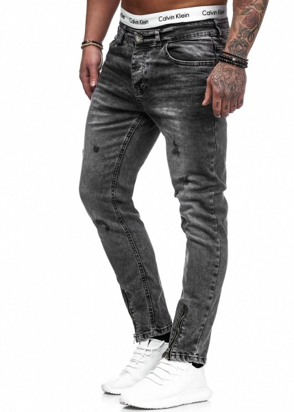 Herren Jeans Hose Slim Fit Männer Skinny Denim Designerjeans 5099C