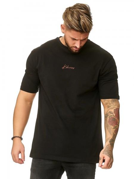 Herren T-Shirt Poloshirt Shirt Kurzarm Printshirt Polo Kurzarm KO19-T3