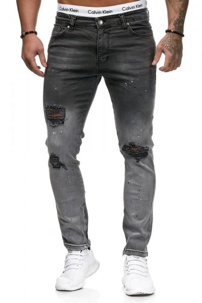 Herren Jeans Hose Slim Fit Männer Skinny Denim Designerjeans 5128C